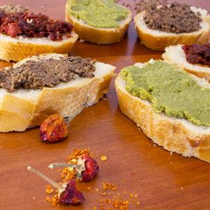 Crème olives noires et truffe d'été