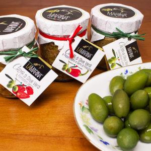 Olives vertes bio en saumure (Olive verdi in salamoia)