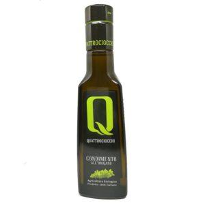 Condiment à l'huile d'olive vierge extra bio aromatisée à l'origan (Condimento all'origano)