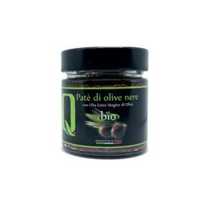 Crème d'olives noires bio