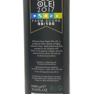 Huile d'olive vierge extra bio Delicato