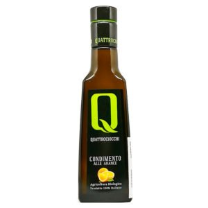 Condiment à l'huile d'olive bio aromatisé à l'orange