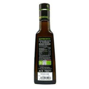 Condiment à l'huile d'olive bio aromatisé au romarin