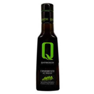 Condiment à l'huile d'olive bio aromatisée à l'origan