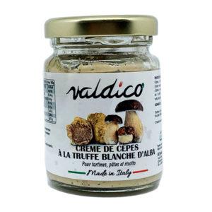 Crème de cèpes et truffe blanche d'Alba