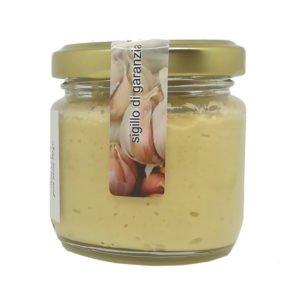 Crème d'ail rouge de Castelliri