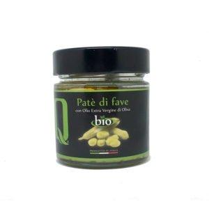 Crème de fèves bio à l'huile d'olive vierge extra