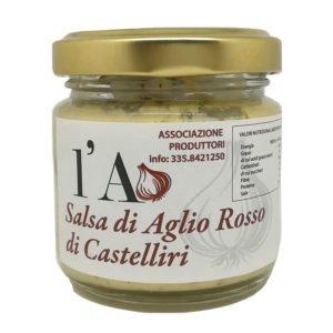 Sauce d'ail rouge de Castelliri