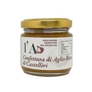 Confiture d'ail rouge de Castelliri