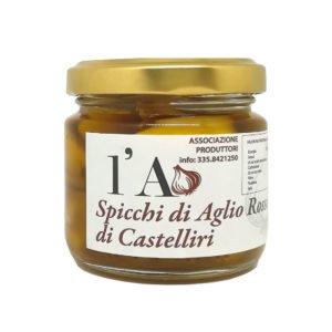 Gousses d'ail rouge de Castelliri