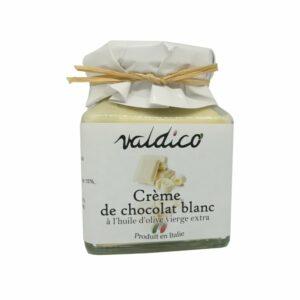 Pâte à tartiner au chocolat blanc à l'huile d'olive