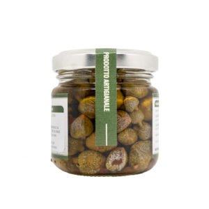 Câpres à l'huile d'olive vierge extra