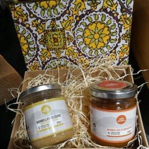 Coffret cadeau 2 marmelades de Sicile