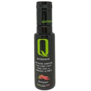 Condiment à l'huile d'olive bio aromatisée au piment