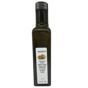 Condiment à l'huile d'olive aromatisé à la truffe blanche d'Alba