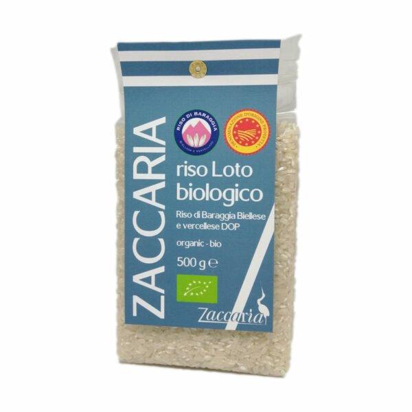 riz loto bio DOP Zaccaria